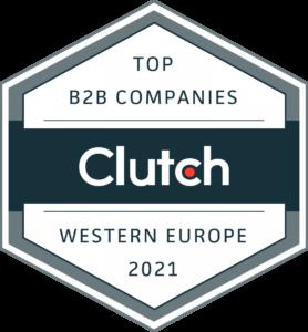 Top B2B Companies 2021 Clutch Award